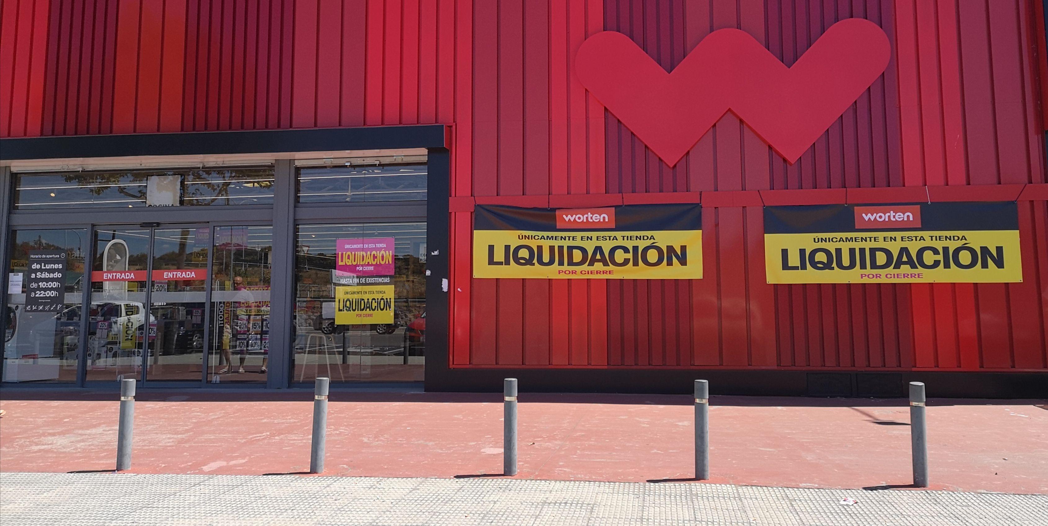 Liquidación TOTAL por Cierre de Tienda Worten de Plasencia (Cáceres)