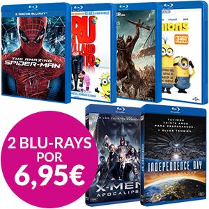 2 Blu-Ray por 6,95