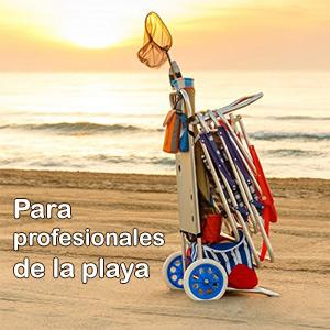 Carrito de playa multifuncional - Alcampo La Orotava)