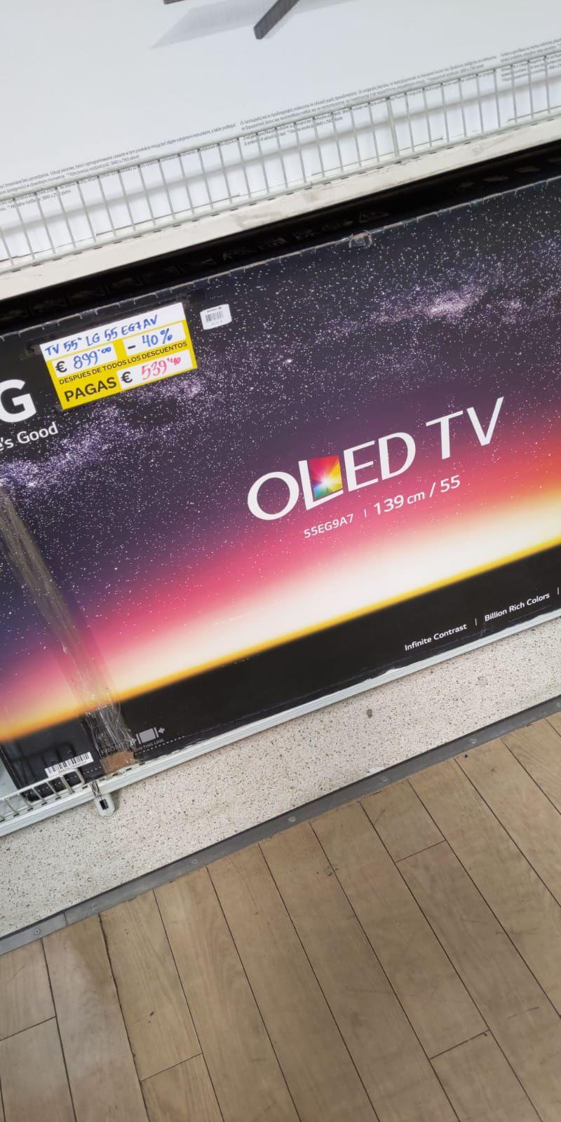 Tv OLED a precio de LCD (Carrefour Rosaleda en Malaga)