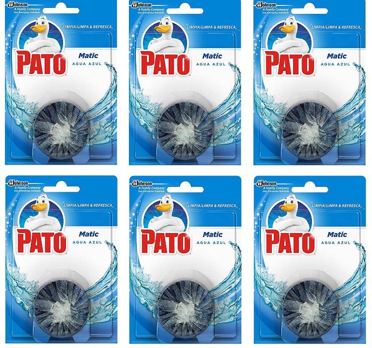 Pastillas Desinfectantes Cisterna WC Pato