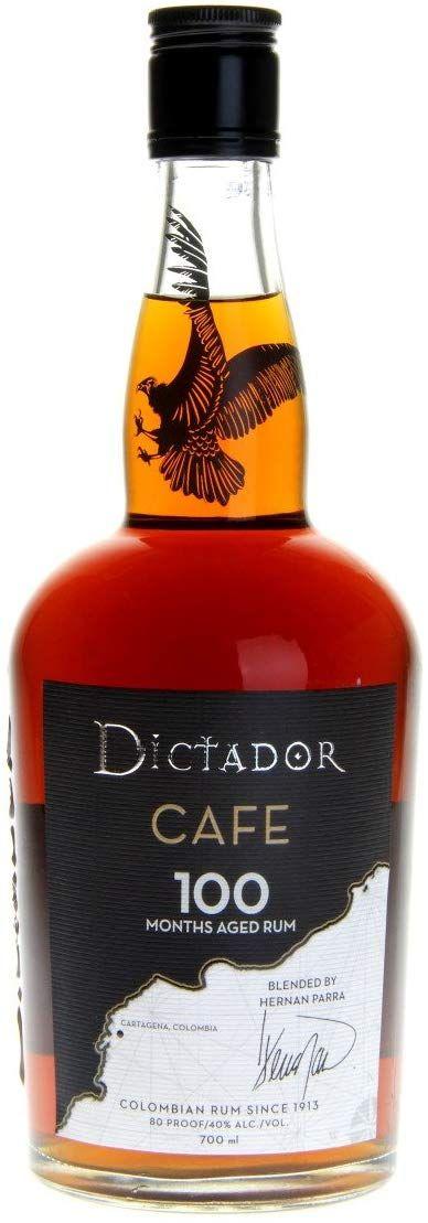 Ron Café Dictador 100 Meses - 700 ml.