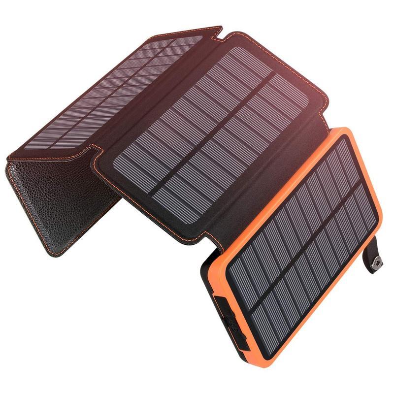 PowerBank Cargador Solar 25000mAh Waterproof