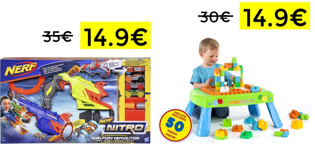 Nerf Nitro Duelfurry solo 14.9€
