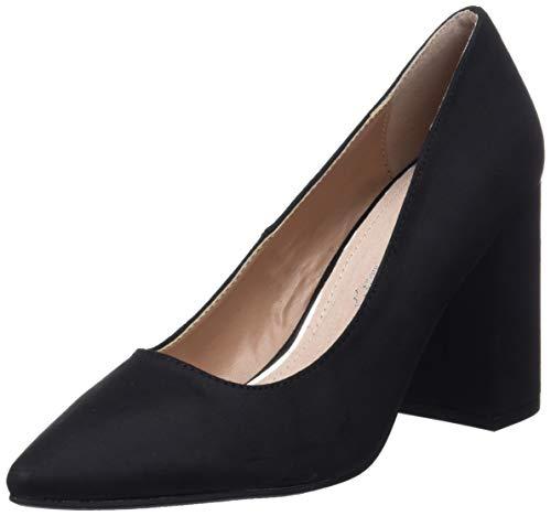 Zapato de tacón, negro talla 36. Producto Plus