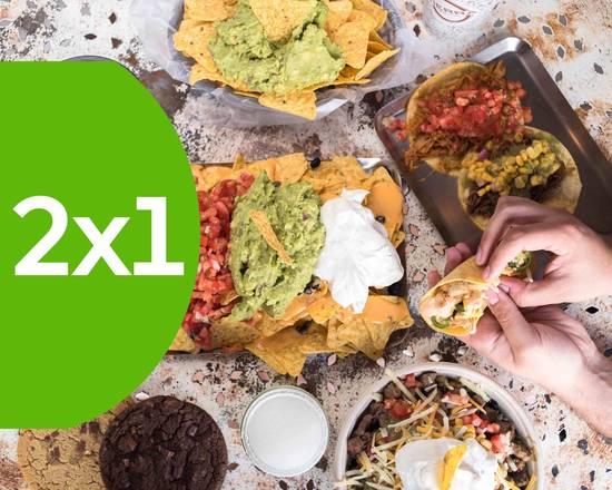 2x1 Uber Eats + 10€ de descuento