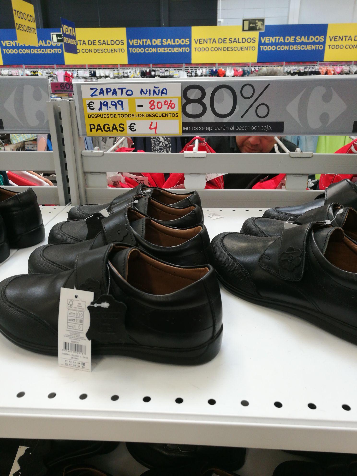 Zapatos colegio niña - Carrefour peñacastillo