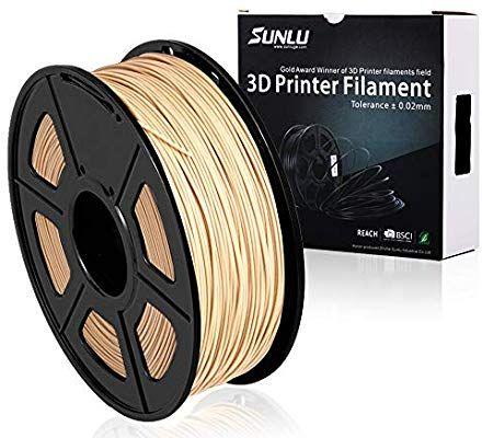 Filamento PLA Madera marca SUNLU