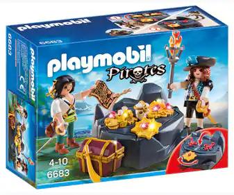 Playmobil 6683 Escondite del Tesoro Pirata - Alcampo Loranca Fuenlabrada