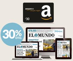 El Mundo, Marca o Expansión + 30€ cheque regalo Amazon
