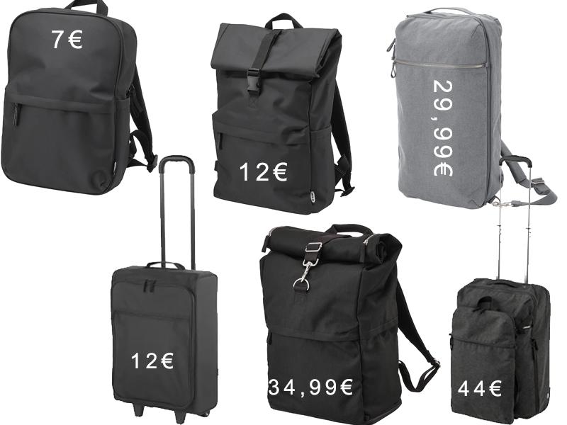 Ofertas en mochilas y maletas IKEA