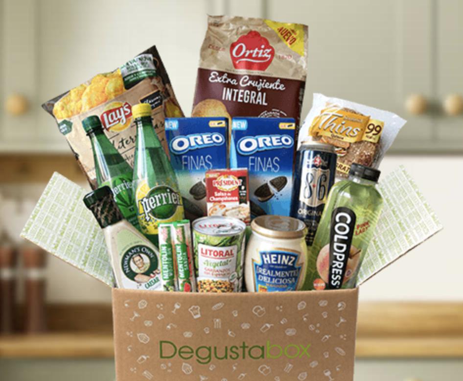 Caja mensual DegustaBox