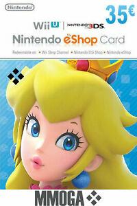 Código de 35€ de Nintendo eShop por 29,38€