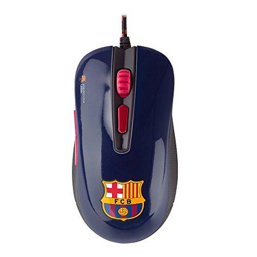 Mars Gaming MMBC - Ratón del FC Barcelona (PRECIO MÍNIMO) + sorpresa merengue