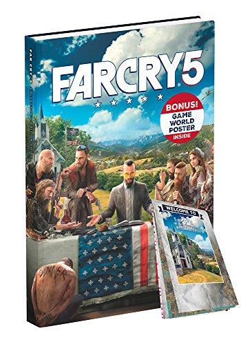 Guía Edición Coleccionista Far Cry 5 en Inglés + Póster Incluido + Guía para Móvil