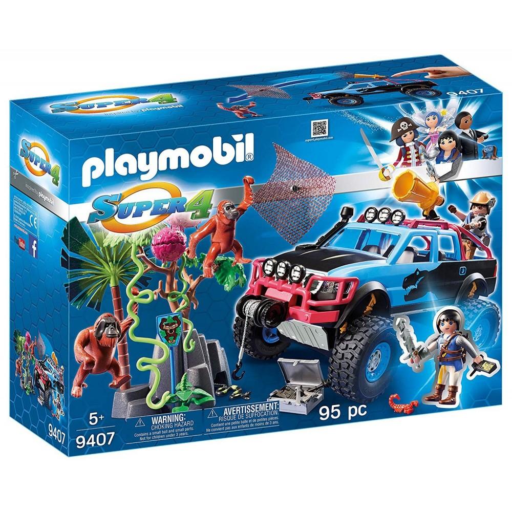 Playmobil 9407 Monster Truck Alex Brock Y Rock Pickup