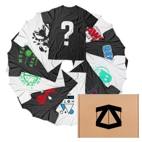 10 camisetas +Zbox para geeks solo 36.4€