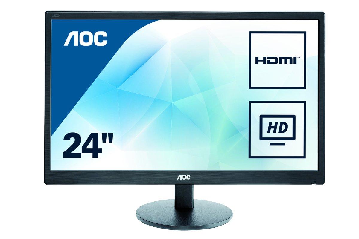 """Monitor de 23,6"""" Full HD con 1ms con altavoces incorporados por 95 €"""