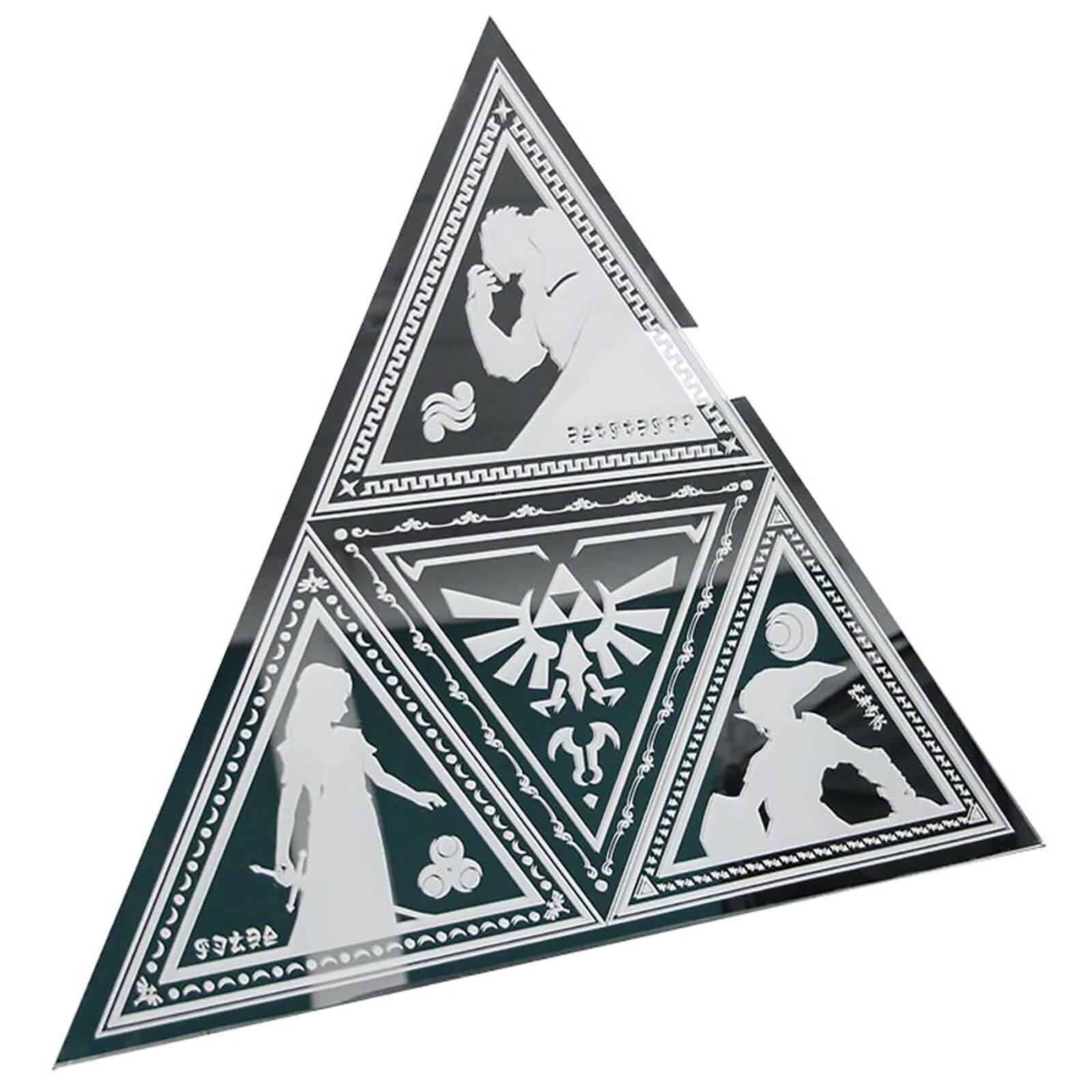 The Legend of Zelda Triforce Mirror