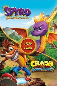Spyro + Crash bandicoot Remasterizado XBOX ONE (digital)