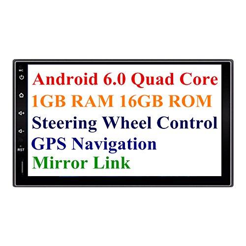 Radio y GPS  para coche con Android 6.0 con pantalla con 1024 x 600 de alta definición