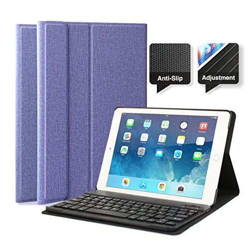 Funda protectora con teclado Bluetooth para iPad