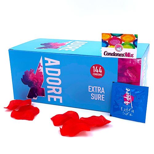 144 Preservativos Adure (0,06€/Preservativo)
