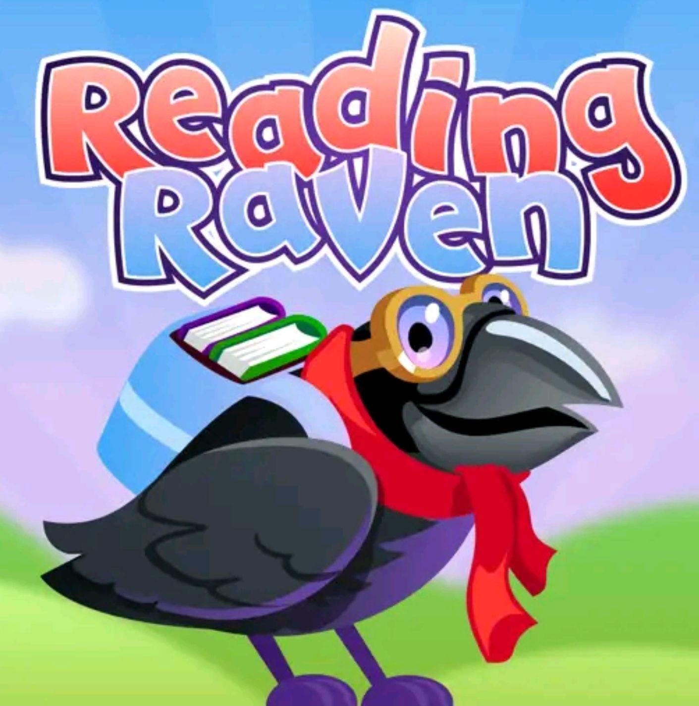 "App para aprender a leer en Inglés ""Reading Raven""."