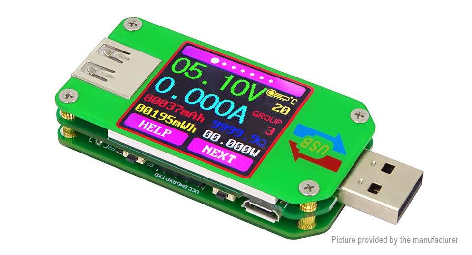 USB Tester con pantalla oled a color