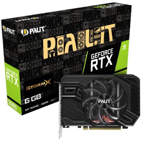 Palit GeForce RTX 2060 StormX 6GB GDDR6 + JUEGOS GRATIS