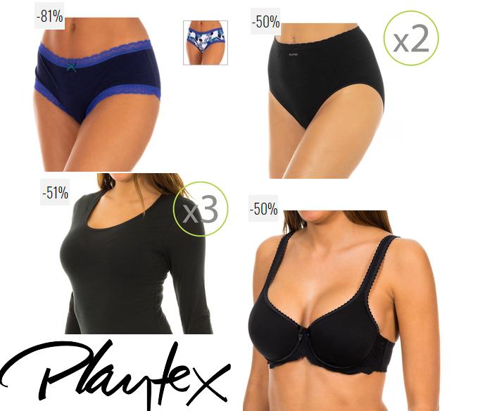 Playtex - Del 16 al 21 de agosto del 50 al 81% de Descuento.