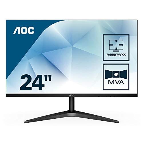 """Monitor 23,6"""" Full HD con altavoces incorporados por 98 €"""