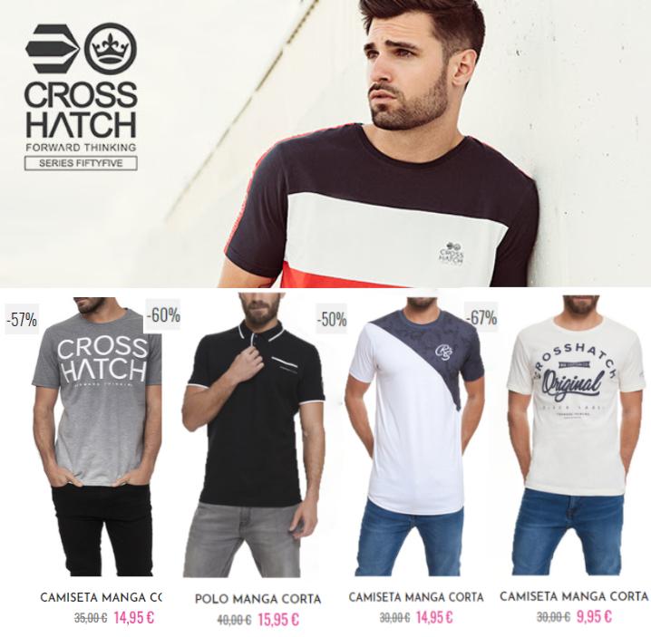 Hasta -75% en Crosshatch / Polos, Camisetas, Sudaderas, Camisas.
