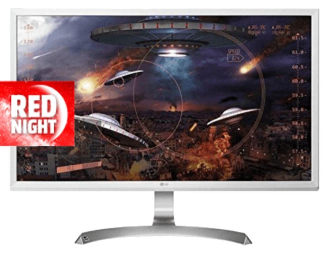 Monitor - LG 27UD59-W, 27 pulgadas, 4K, 5 ms, HDMI, Blanco
