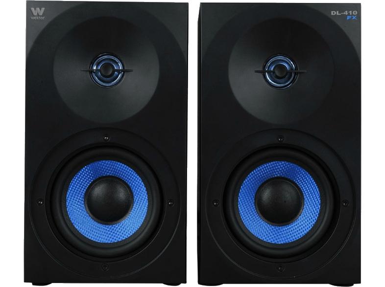 Altavoces -150 W. Woxter Dynamic Line DL-410, 150 W, Negro y azul