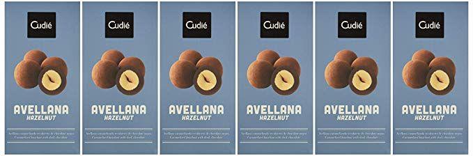 6 cajas (18uds/caja) Cudié Avellana y chocolate (sin gluten!)