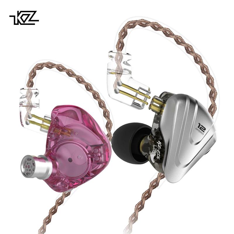 Nuevos auriculares KZ ZSX (KZ Terminator) hibridos (5ba+1dd), cable reemplazable