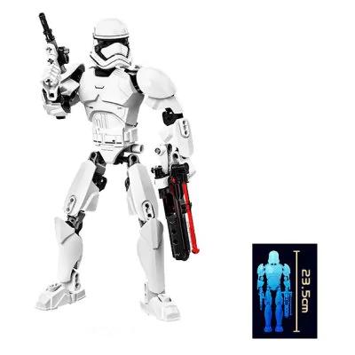 Figura 3D Soldado de Asaldo de la Primera Orden (Star Wars) 23,5 cm.