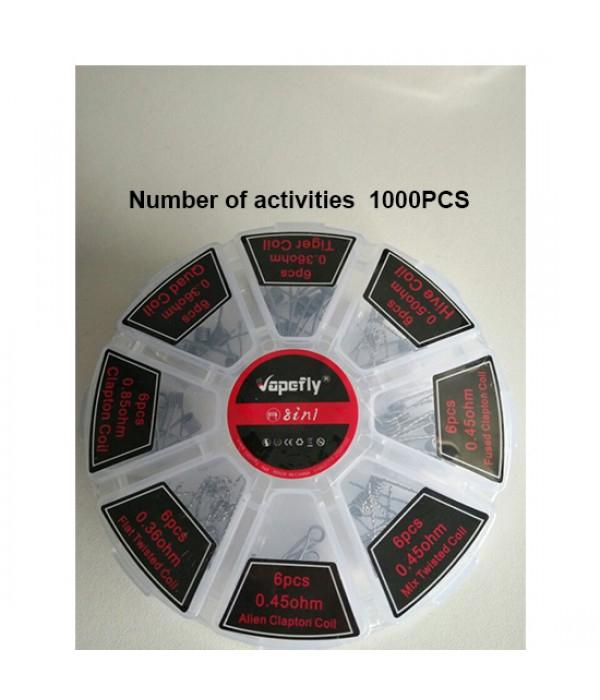 48 resistencias variadas para atomizadores de vapeo