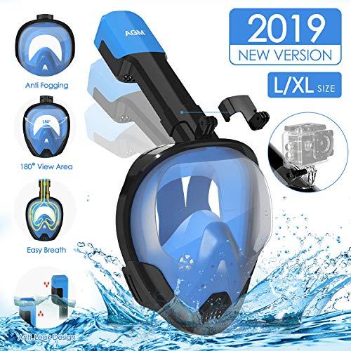 Máscara snorkel soporte+funda solo 12.9€