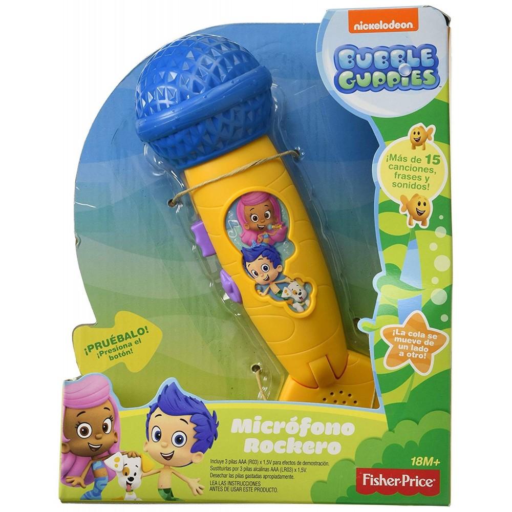 Fisher-Price CGD94 Microfono Rockero Bubble GuppiesREFERENCIA: 00044831