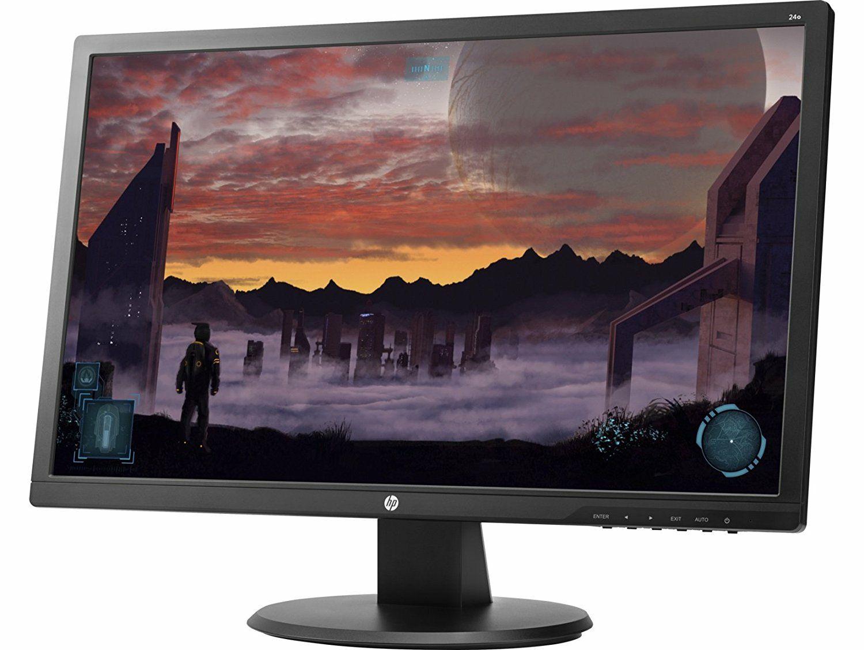 HP 24o - Monitor de 24'' (1920 x 1080 pixeles, Full HD, 1 ms, HDMI, VGA, 60 Hz), color negro