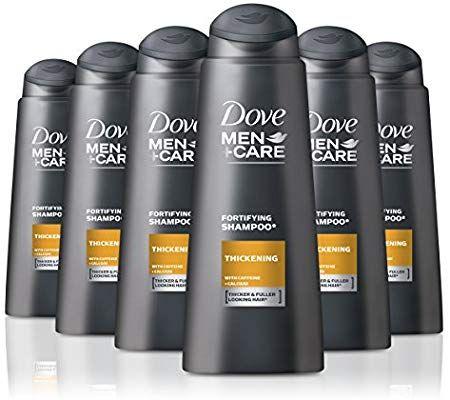 Dove–Men + care–Champú crecimiento, 400ml (Pack de 6)