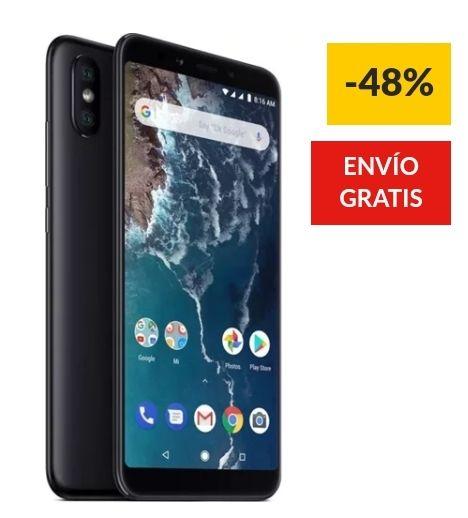Worten - Smartphone XIAOMI Mi A2 (5.9'' - 4 GB - 32 GB - Negro)