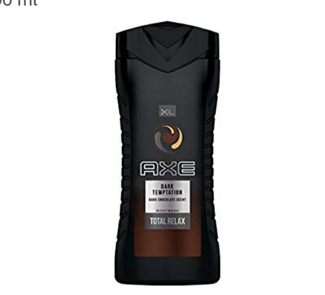 AXE Dark Temptation Gel de Ducha - 8 unidades de 400 ml
