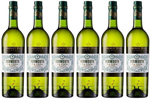 6 Botellas de Vermouth Blanco