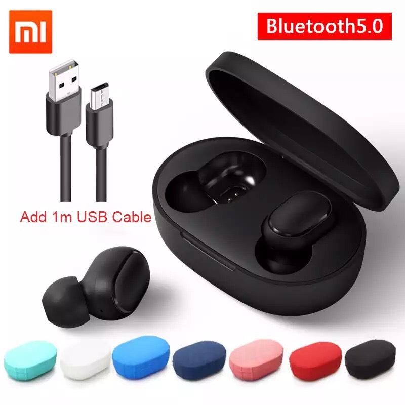 Xiaomi Redmi Airdots + funda de color + cable desde España por 16€