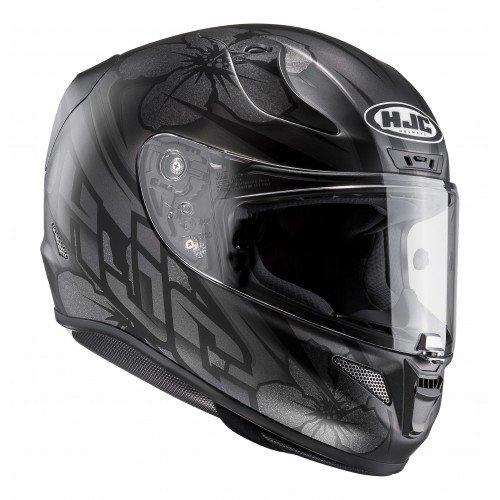 Casco de moto de HJC RPHA 11Candra MC5SF, color negro, tamaño XS
