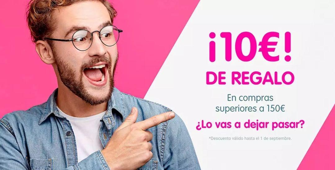 10€ de regalo en CashConverters por la compra mínima de 150€