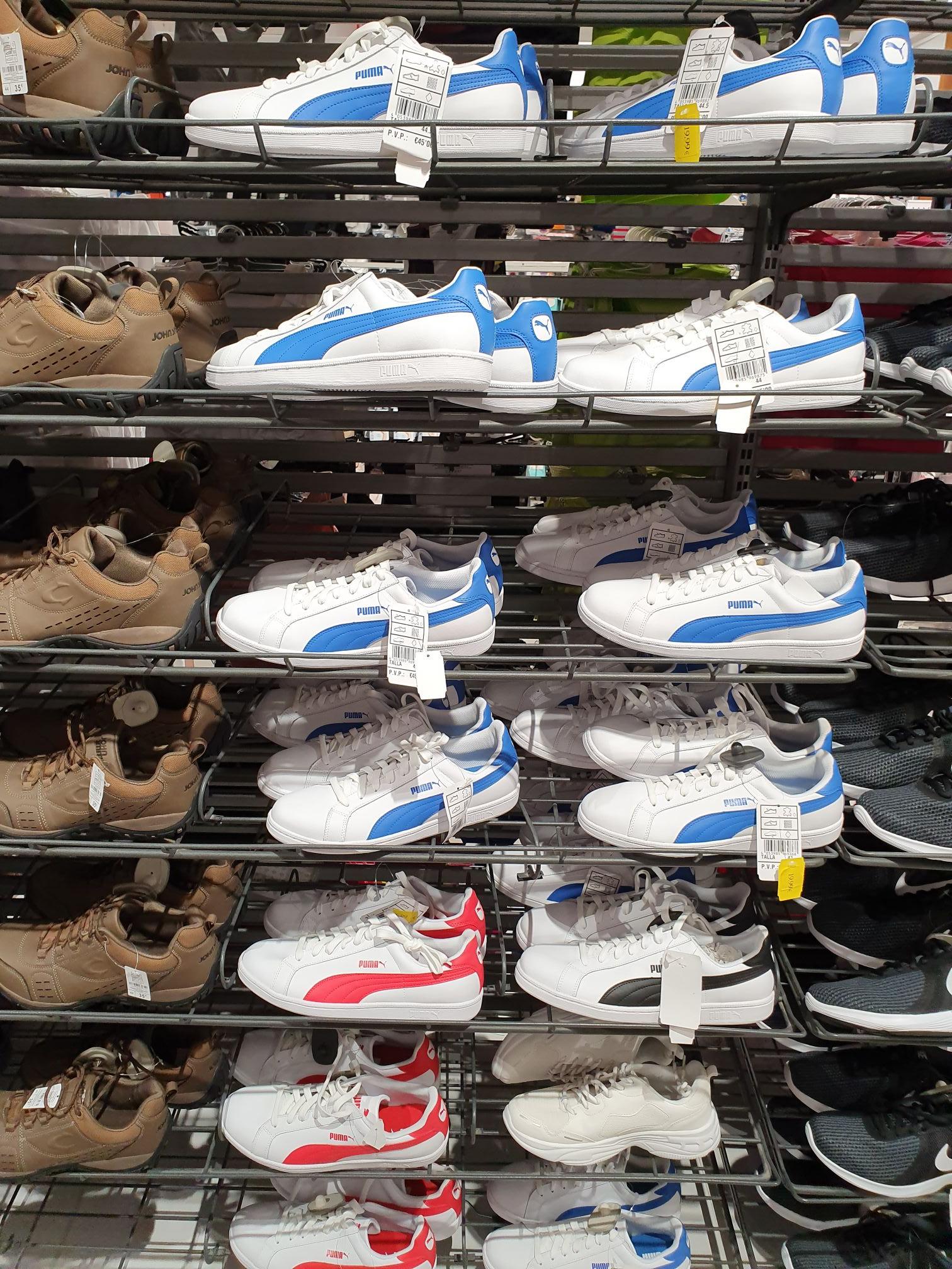 Bambas/zapatillas/deportivas puma carrefour (Barbera del vallés)